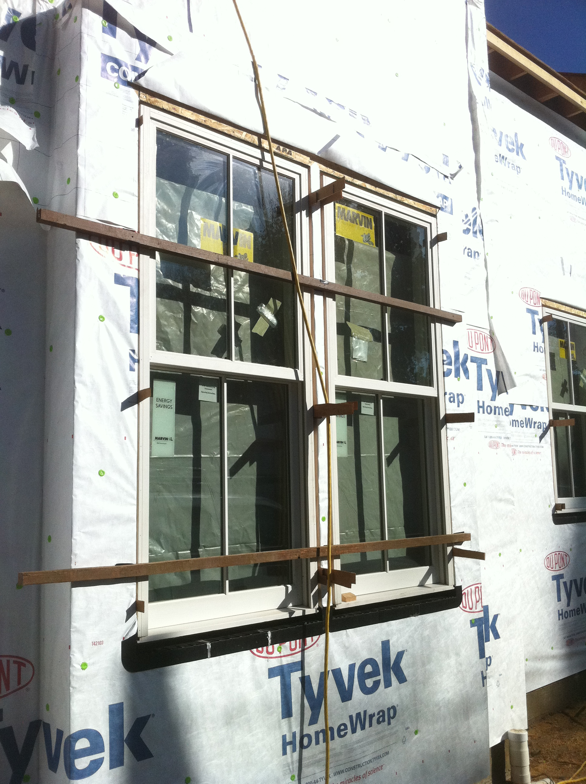 Marvin Wood Exterior Double Hung Window Marin Glass And Windows Blog