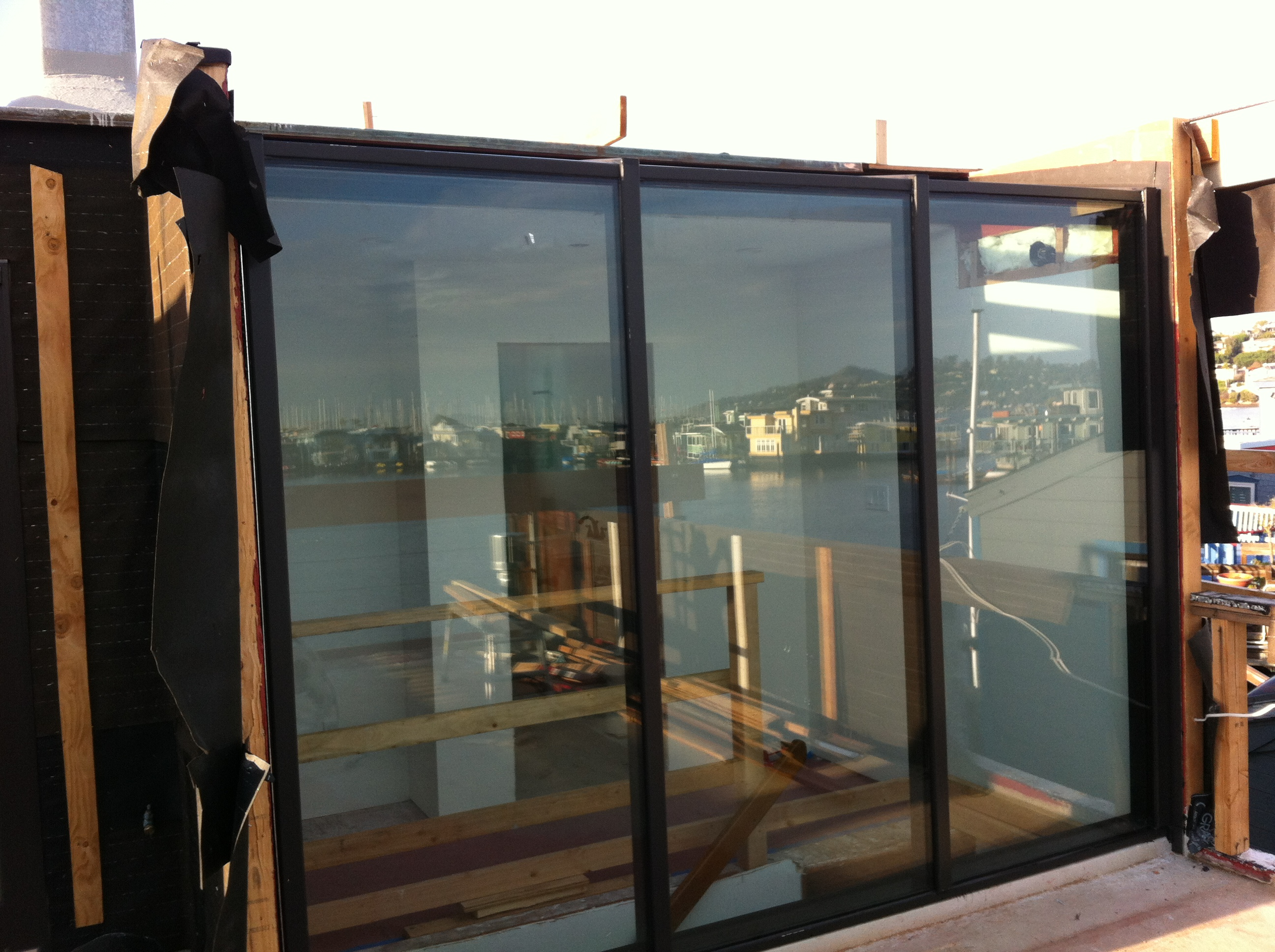 Solarium Installed by Old Town Glass in Sausalito