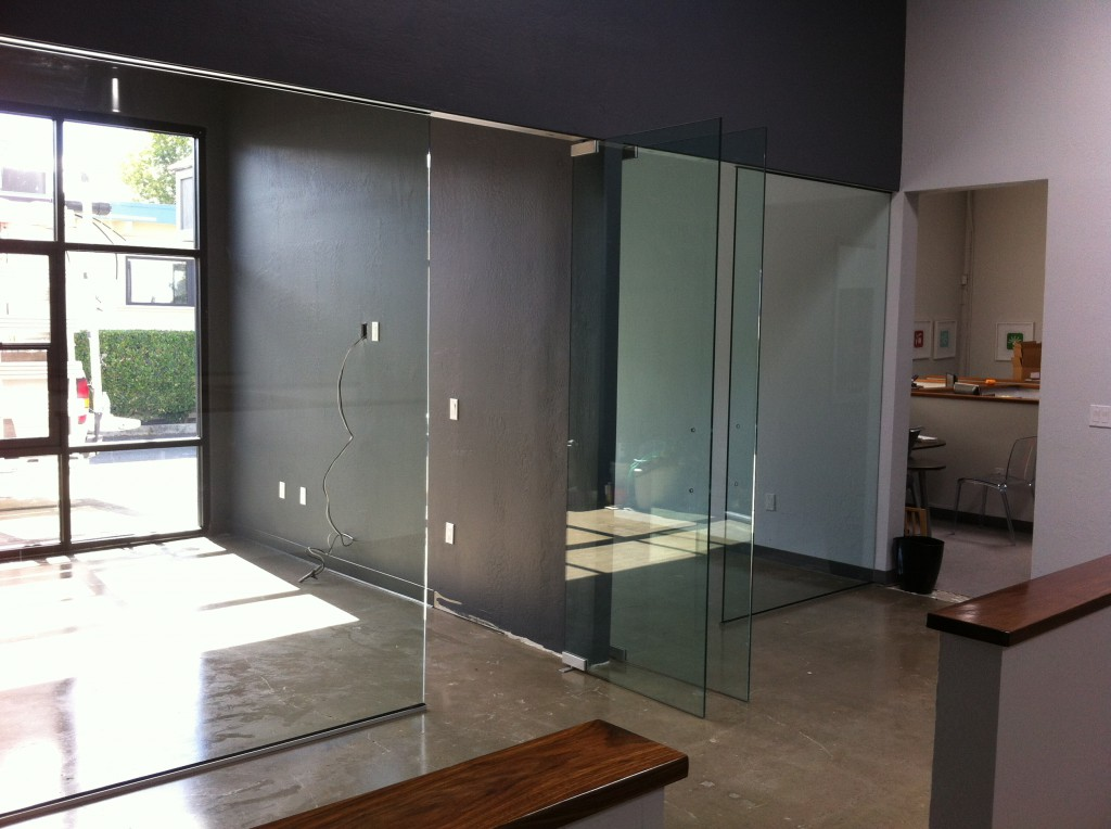 "Two Side by Side Conference Rooms with 1/2"" Glass"