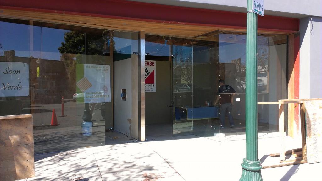 Custom Framless Glass Entry Door