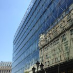 Glass Facade on Commercial Building in Budapest