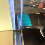 Glass Floor and Glass Railing, Both Using Laminated Tempered Glass