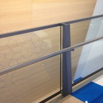 Glass and Stainless Steel Guardrail
