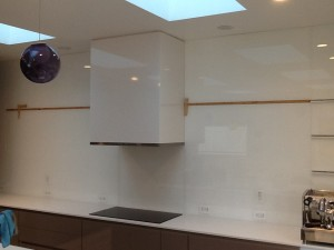 back painted glass for kitchen back splash marin glass and windows