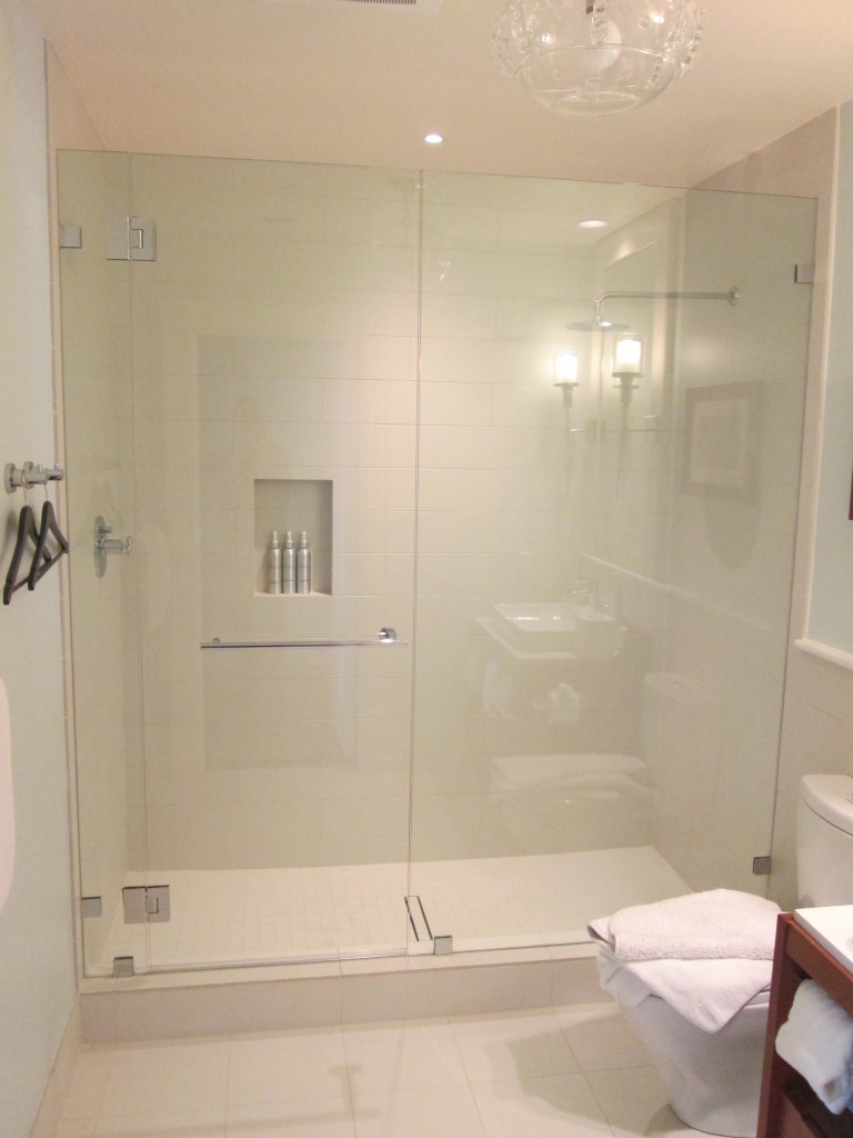 Custom Hotel Glass Shower Doors Ot Glass