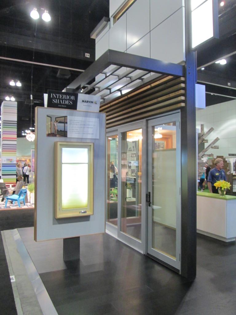 Marvin Interior Shade Display at Dwell on Design