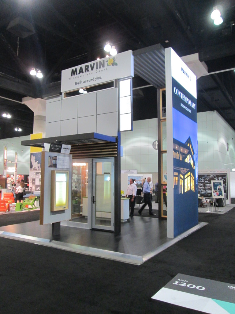 Overview of the Marvin Booth at Dwell 2014