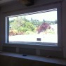 Safti First Fire Rated Window, GPX Framing with Wood Interior Trim