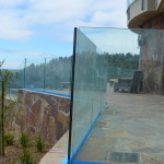 Deck Railing Project with Dupont Sentry Interlayer Glass.