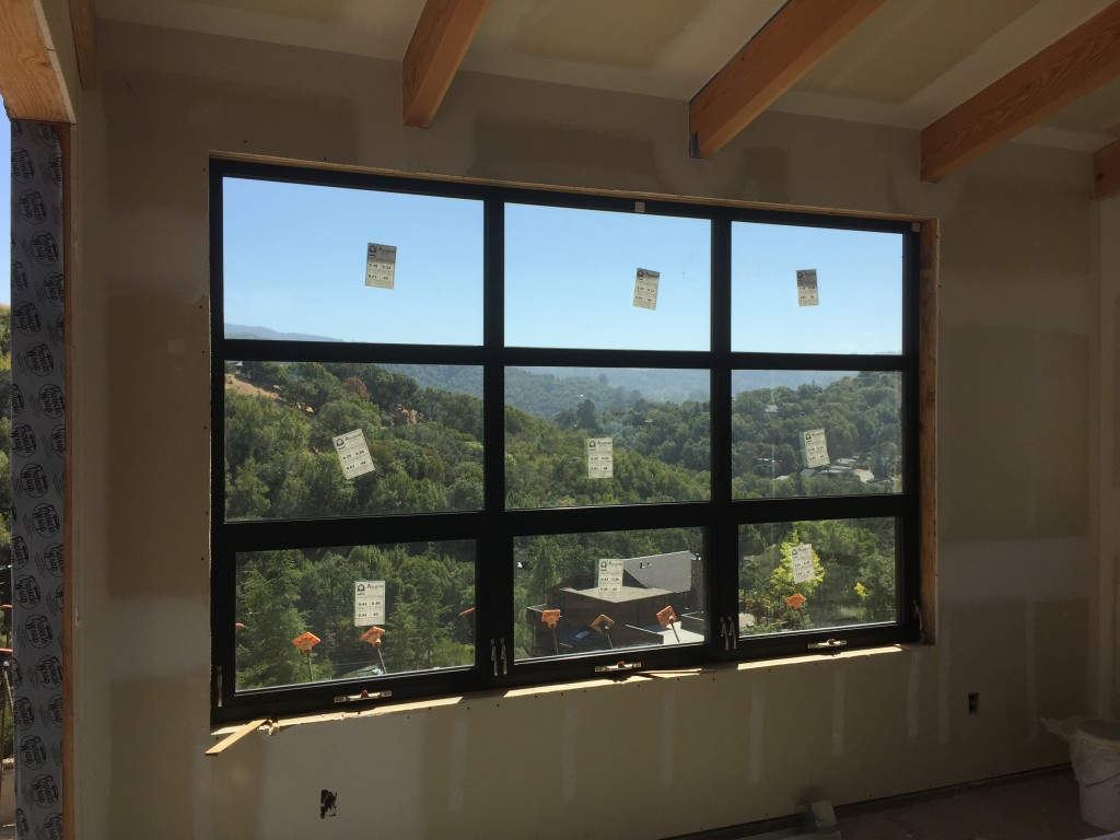 all weather aluminum windows and doors on marin county