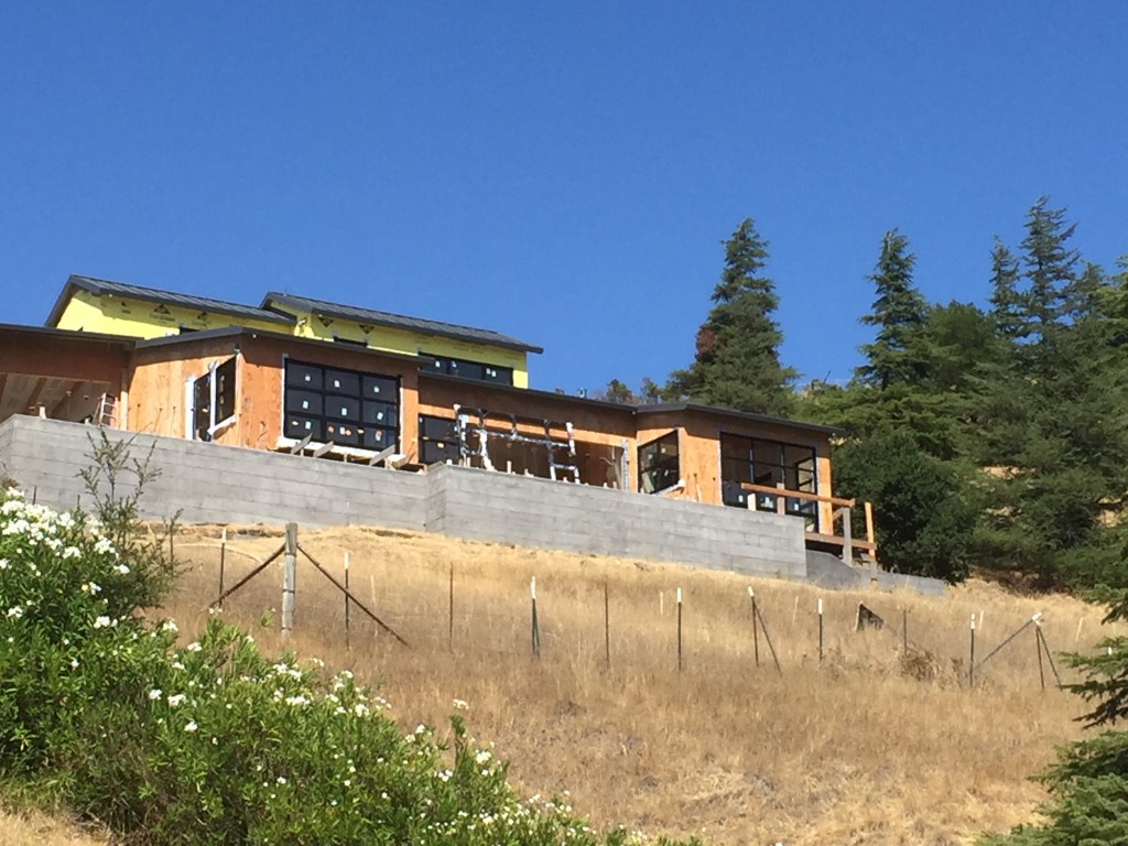 All Weather Windows and Doors on a Project in San Anselmo