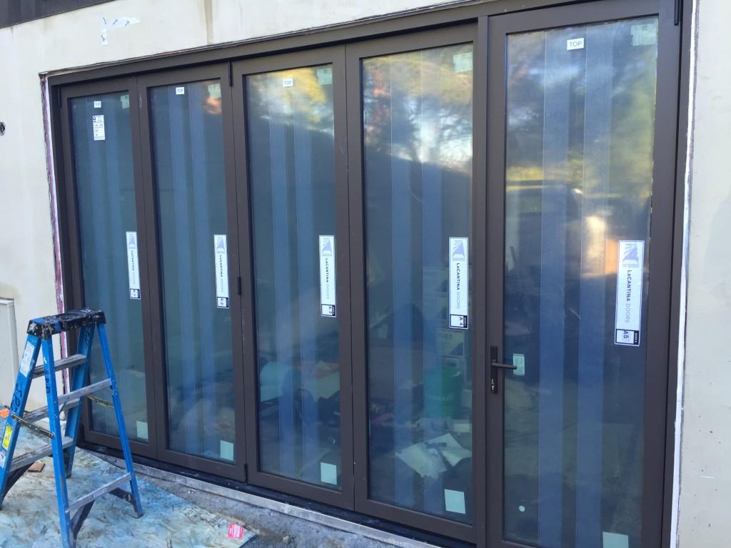 Recent La Cantina Bifold Door Installatiion